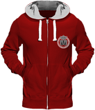 Mens Official Don Lions Pride Chunky Hoodie - Fire Red / S - Homme>Sweatshirts