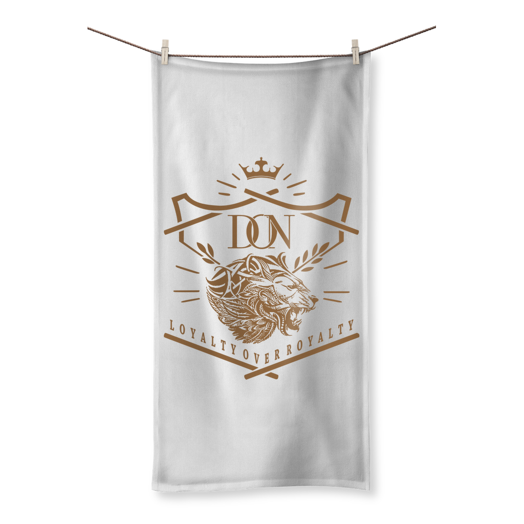 Loyalty Over Royalty Sublimation All Over Towel