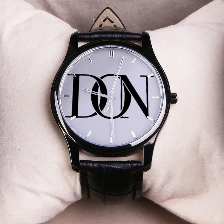 Leather Band Official Don Signature Watch - Watch