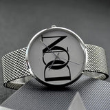 Official Don Signature Silver Band Watch - Watch