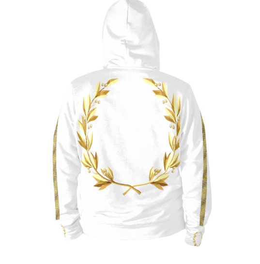 Official Don Inspiration White Plutus Hoodie - Hoodies