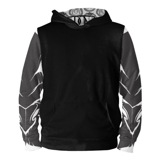 Mens Official Don Lions Pride Wealth Half-Black Hoodie