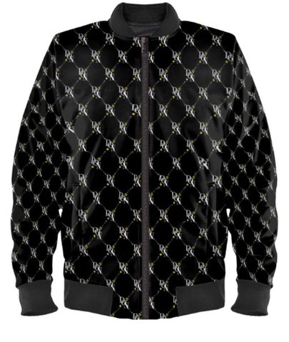 Men's Official DON Signature Print Bomber Jacket