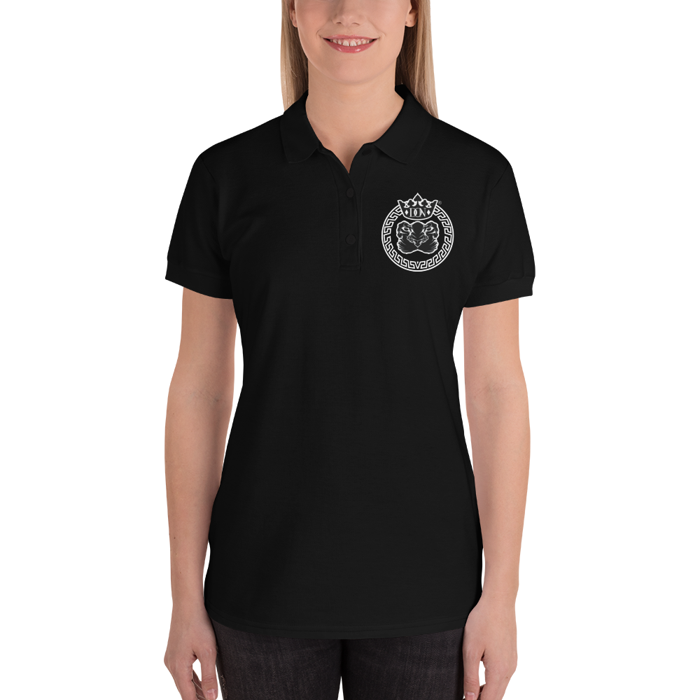 Embroidered Womens Polo Shirt