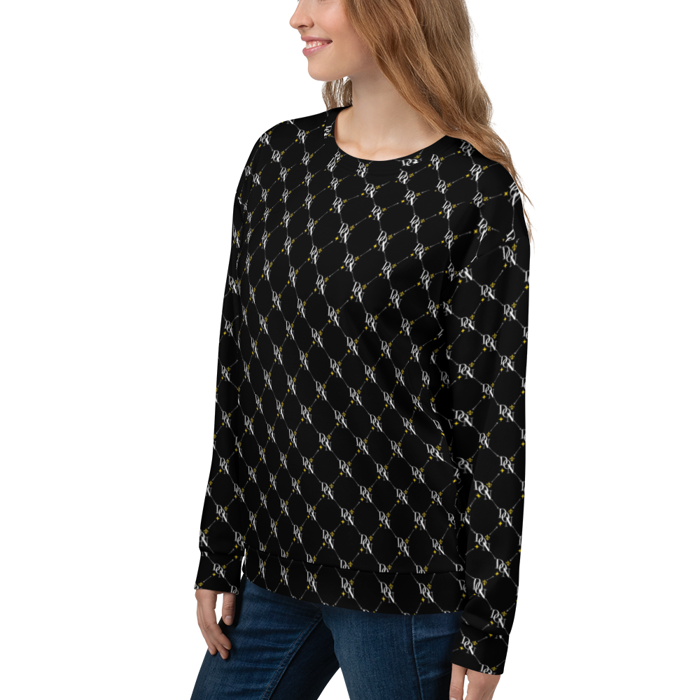 Women's Official DON Signature Pattern Sweatshirt