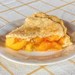 The Village PieMaker Peach Pie