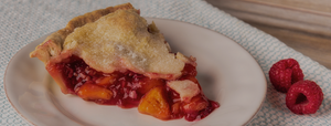 The Village PieMaker Raspberry-Peach Pie