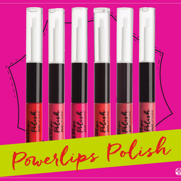 Powerlips Polish Duo Lip - Long lasting lip fluid