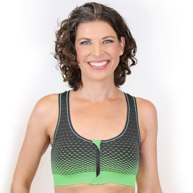 132 Active Bra - Now in Grey Green!