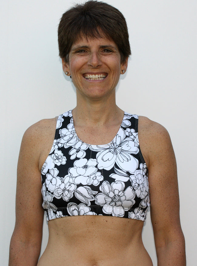 Loraine Mastectomy Sports bra