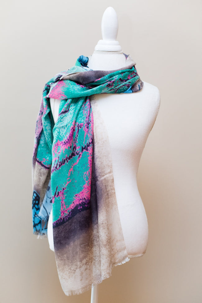Eesme Butterfly Reflections Scarf