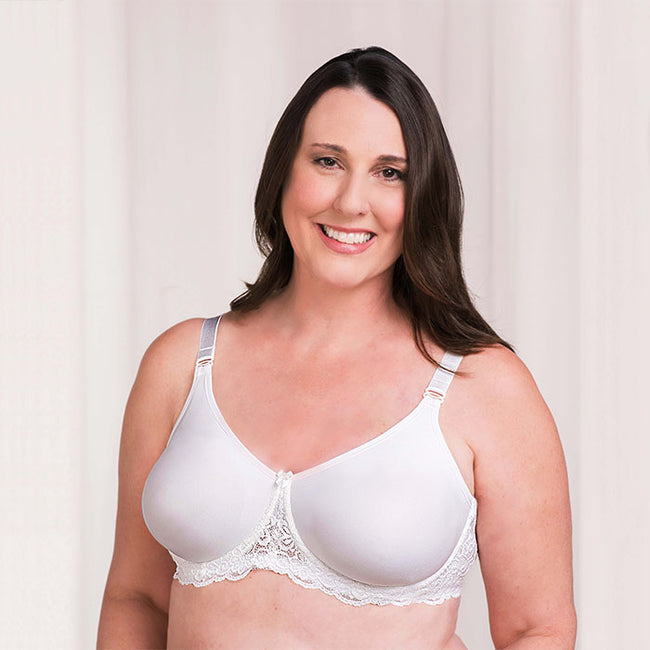 Audrey Seamless Lace Underwire
