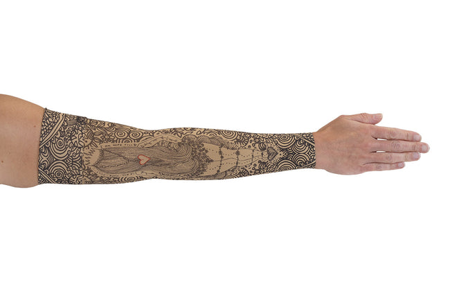 Beauty-Full Beige Arm Sleeve