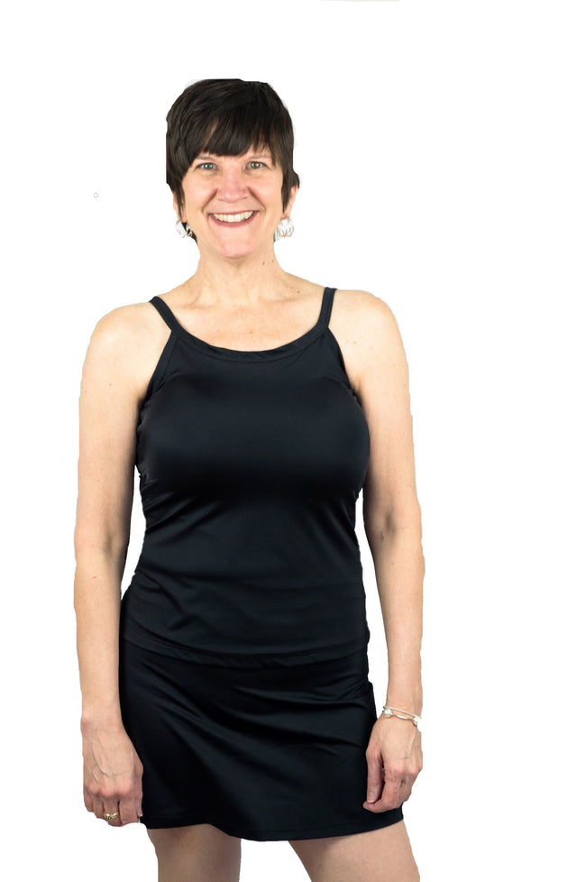 Mastectomy Tankini Swim Top