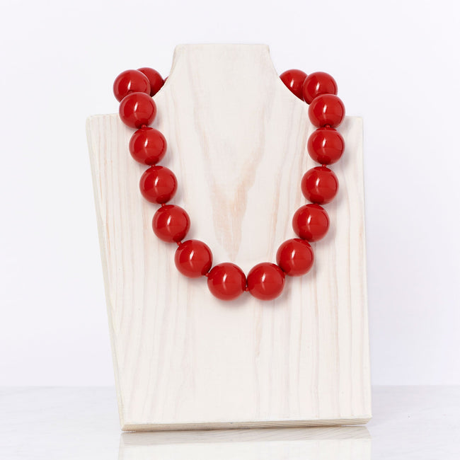 Red Cooling Necklace