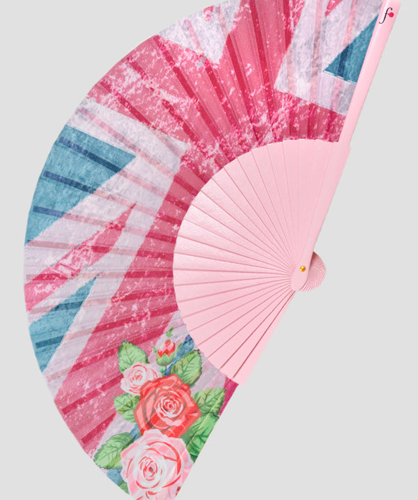 English Rose Fan