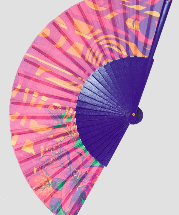 Purple Trance Fan