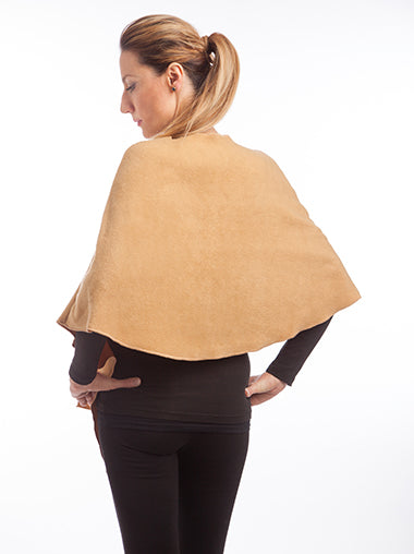 Camel Fleece Wrap
