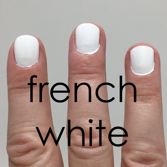 French White Non Toxic Nail Polish