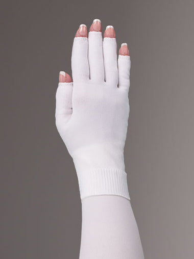 White Compression Glove