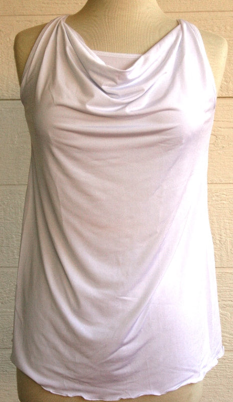 Cowl Neck Top With Built-In Bra