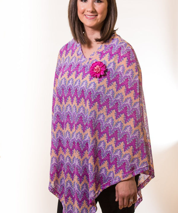 The Poncho with Pizazz