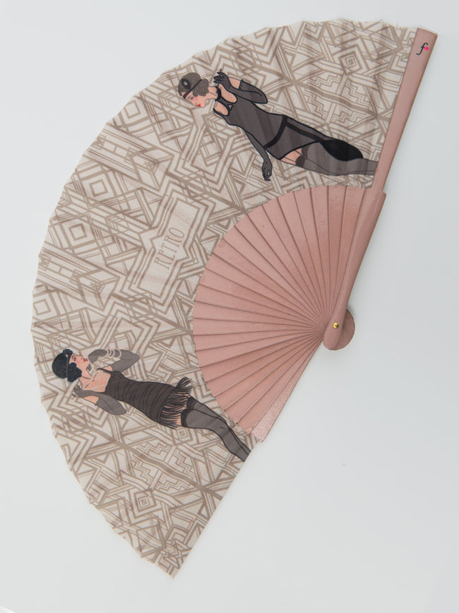 Retro Roaring 20s Hand Fan