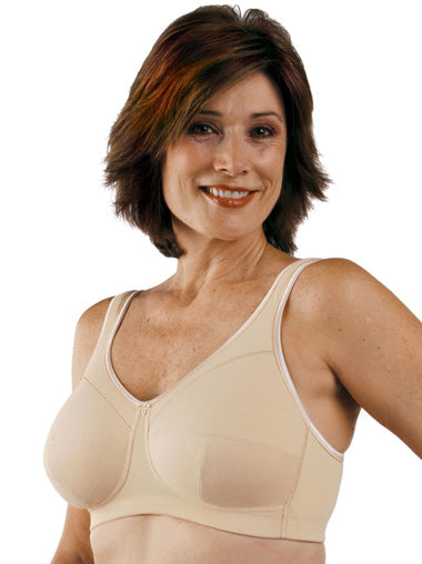 Post Mastectomy Full Figure Comfort Bra Style 761