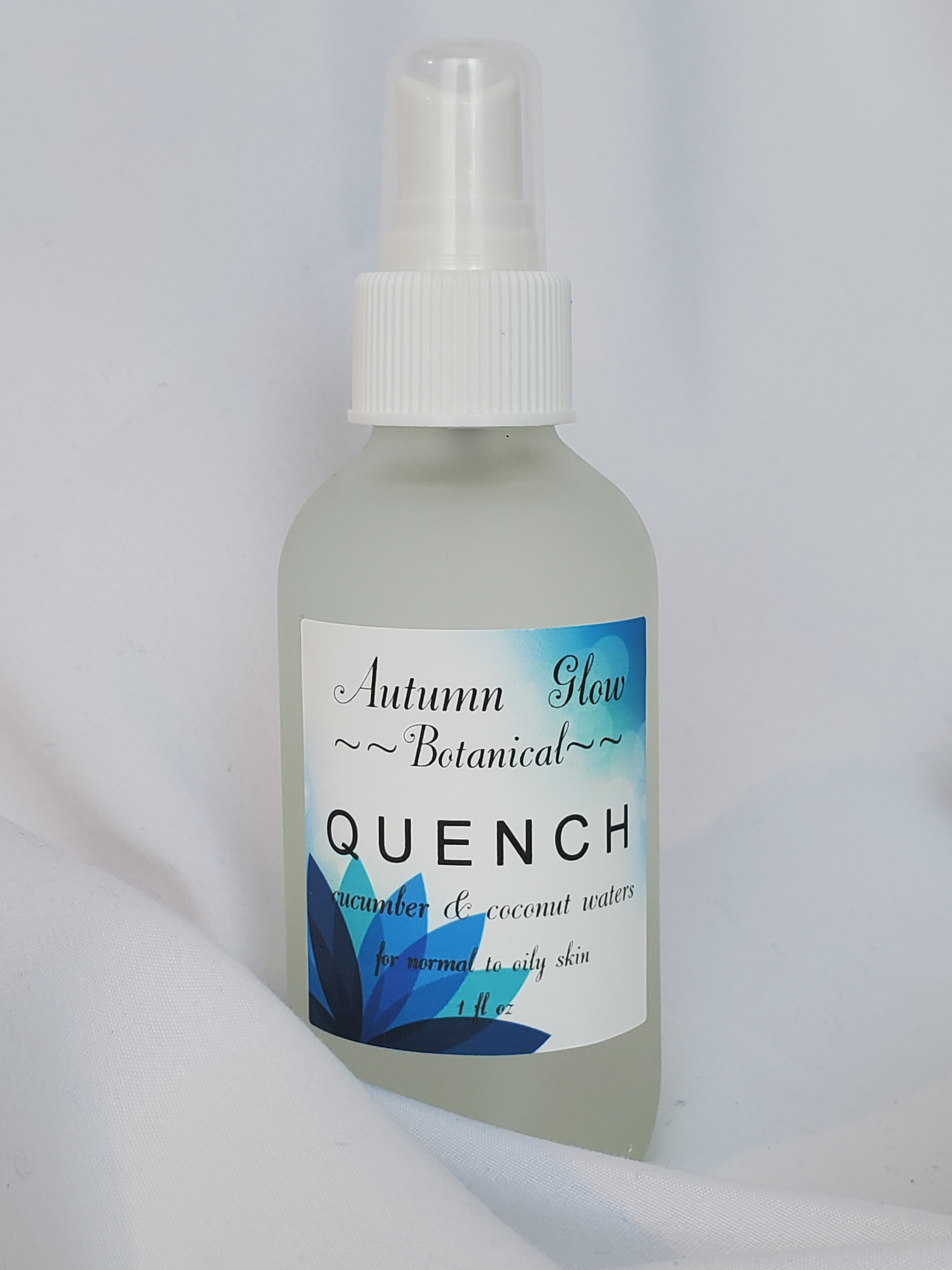 Quench Face Mist w cucumber & coconut waters