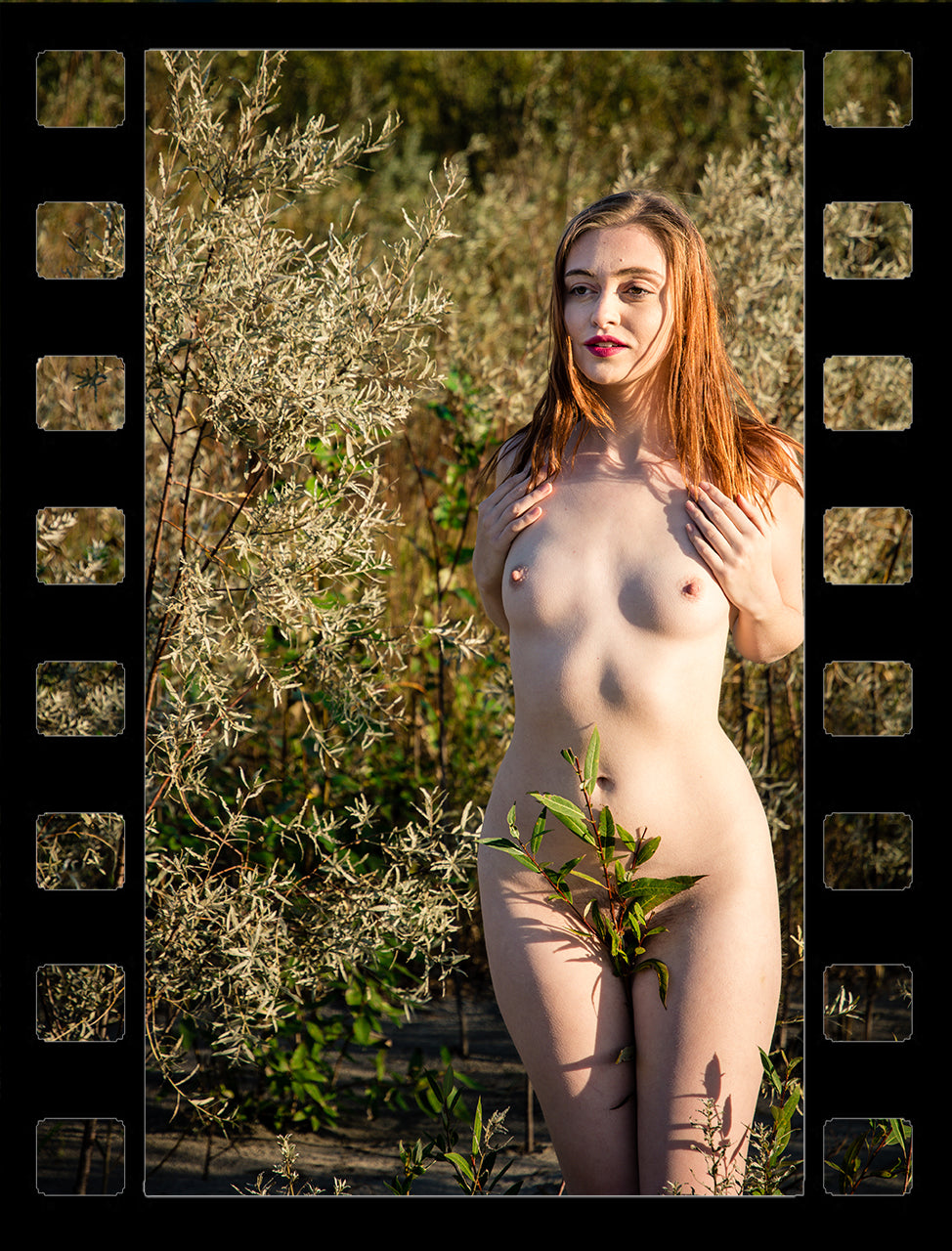 Aria Nude in Nature BTS Video