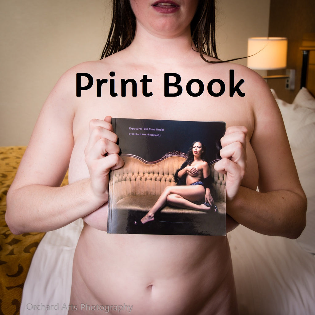 Exposure: First Time Nudes Print Book