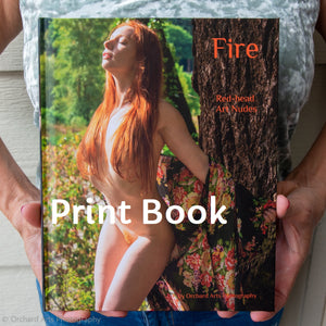 Fire: Red-head Art Nudes Hardcover Book