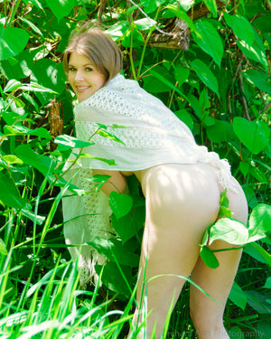 Harley: Nude in the Garden