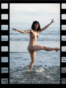Kelsey Nude Beach Dance - BTS Video