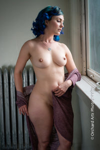 Blue Hair Beauty