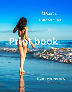 Water: Liquid Art Nudes Print Book
