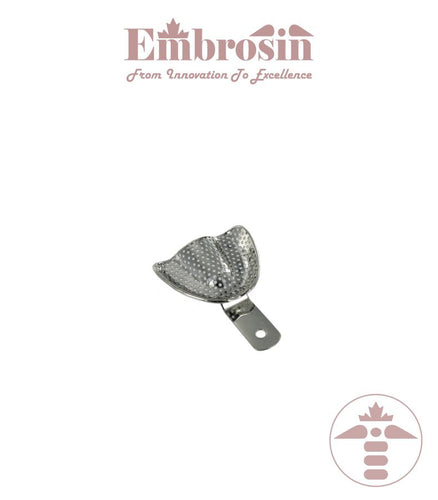 XE07-002M-U - Dental Impression Trays (Edentulous), Upper, Medium (Perforated)