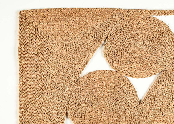 The Niká Handwoven Rectangular Natural Sisal Rug Collection, Multiple Sizes