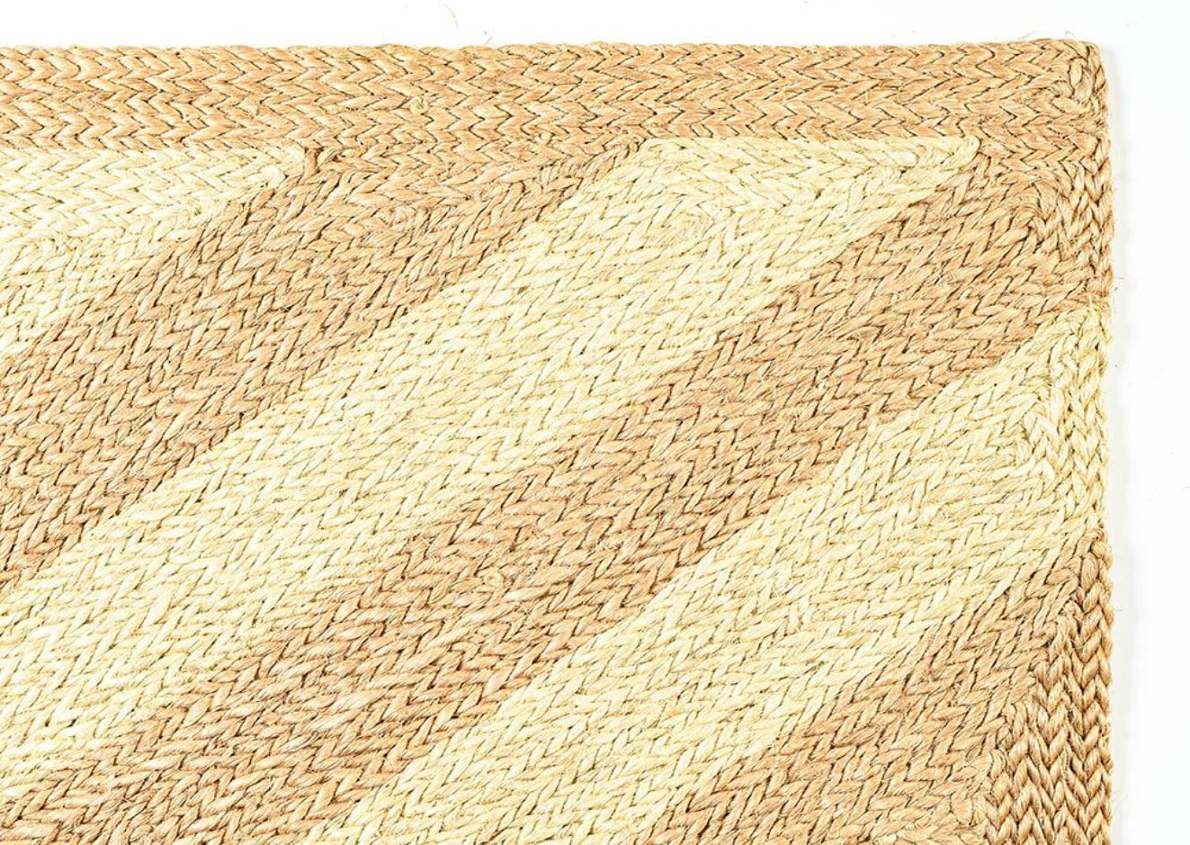 The Nicté Handwoven Rectangular Natural Sisal Rug Collection, Multiple Sizes