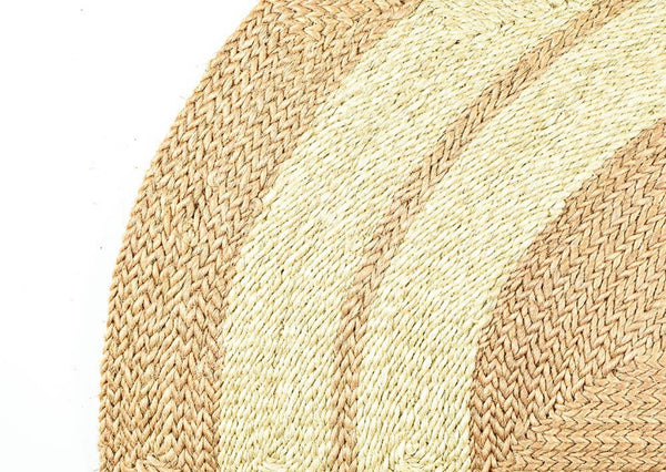 The Masaya Handwoven Round Natural Sisal Rug Collection, Multiple Styles & Sizes