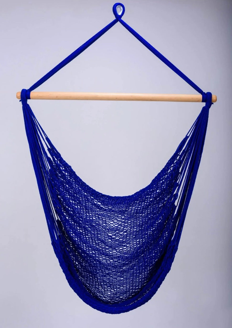 Cobalt Blue Cotton Hammock Swing