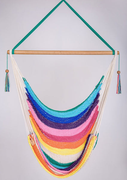 Create Your Own Hammock Swing:  Mix and match your favorite color stripes