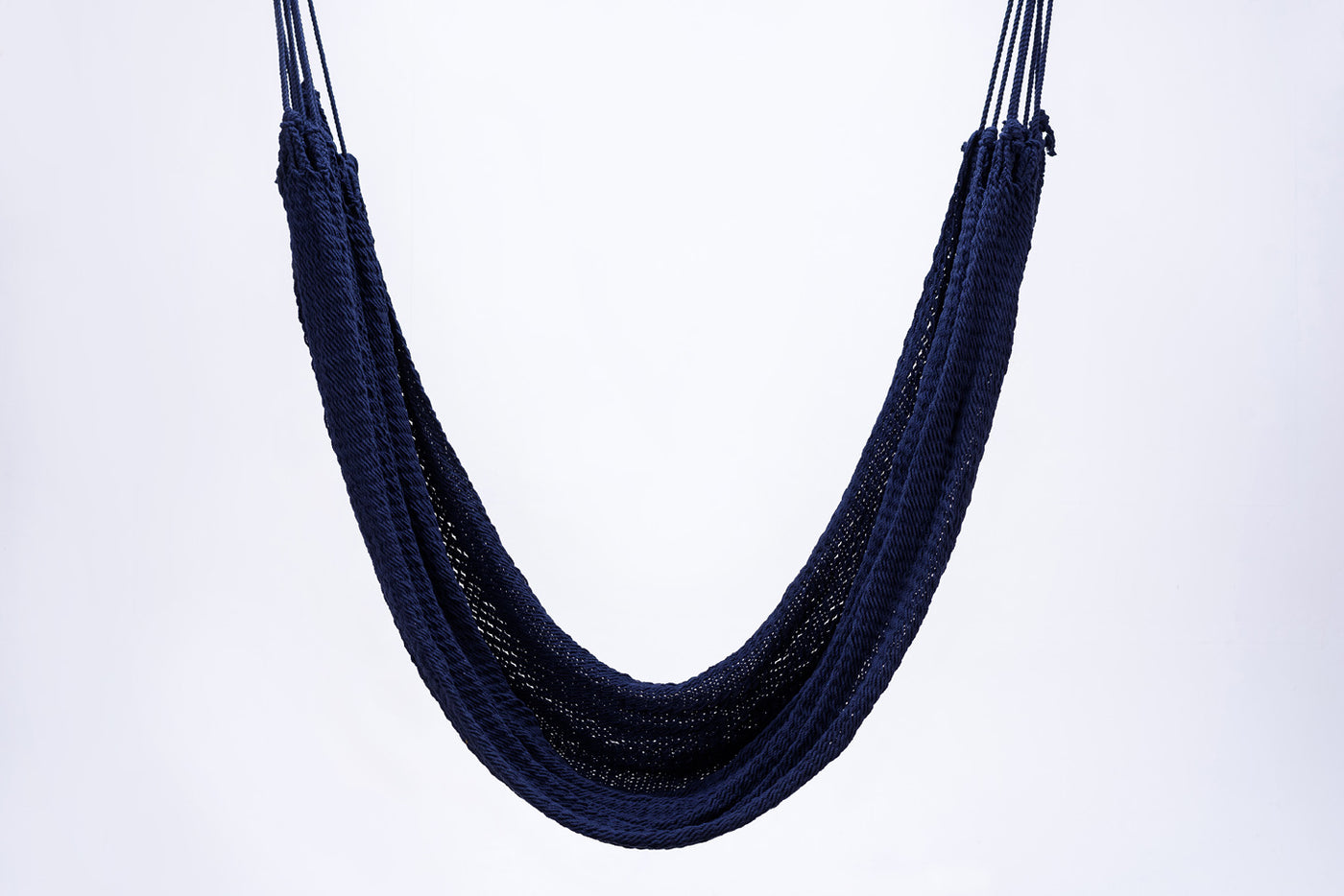 Cotton Navy Blue Hammock Handmade High Quality