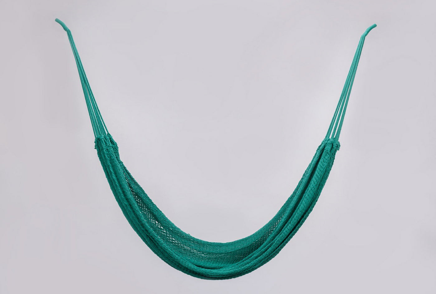 Luxury High End Hammock Handwoven Organic Cotton Spectrum Teal Green