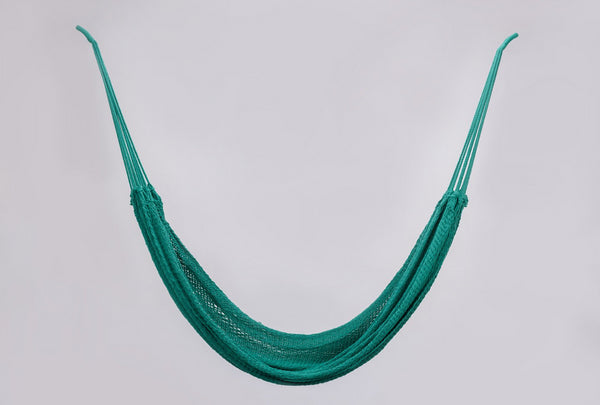 Cotton Teal Green Hammock Handmade High Quality