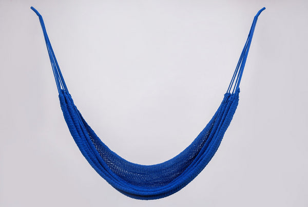 Cotton Cobalt Blue Hammock Handmade High Quality