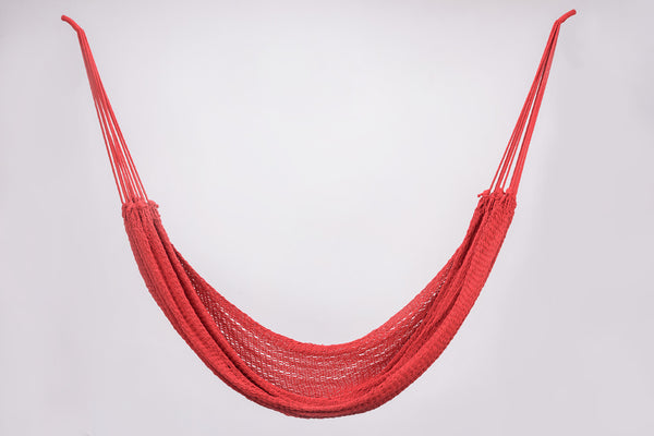 Cotton Red Hammock Handmade High Quality