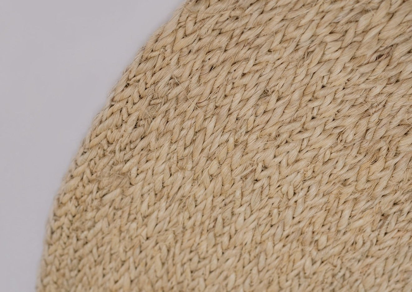 The Monimbó Handwoven Round Natural Sisal Rug Collection, Multiple Sizes