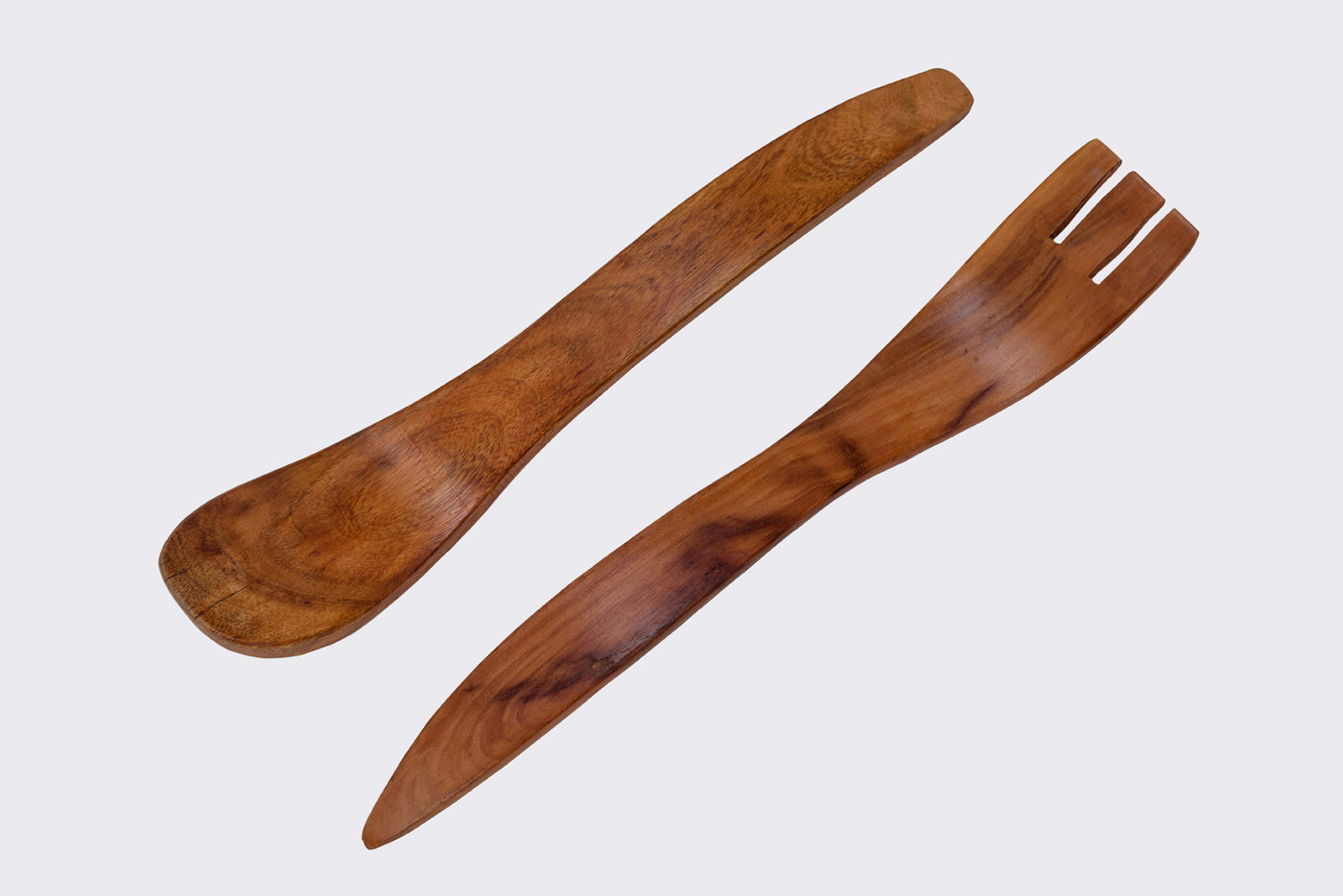 Natural Wooden Duo Servers Serveware