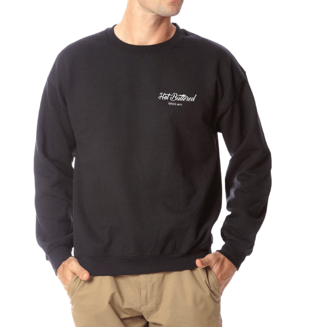 HB Simple Classic Sweatshirt - Black